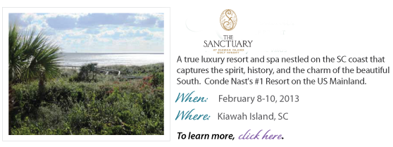 February 2013 Women's Retreat at the Sanctuary at Kiawah Island